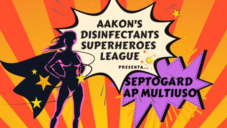 Aakon presenta un altro personaggio della sua Disinfectants League, AP MULTIUSO
